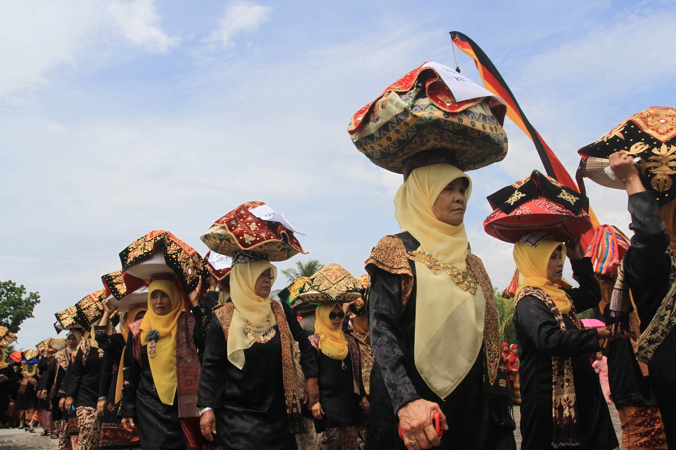 Saribu Arakan Jamba di Festival Keraton Nusantara