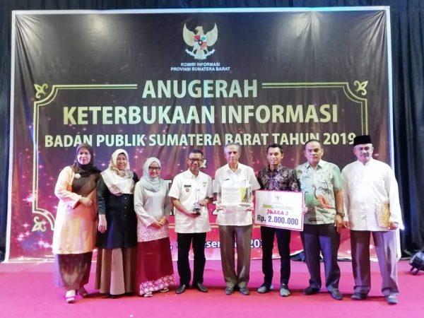 Nagari Baringin Juara 3 Keterbukaan Informasi Publik Se-Sumatera Barat